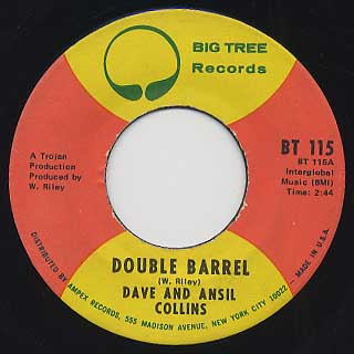 Dave And Ansil Collins / Double Barrel front