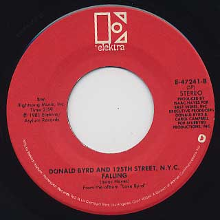 Donald Byrd And 125th Street N.Y.C. / I Love Your Love c/w Falling back