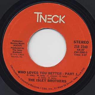Isley Brothers / Who Loves You Better
