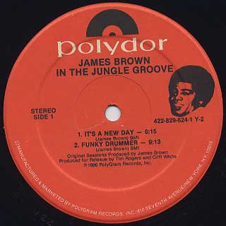 James Brown / In The Jungle Groove(US) label