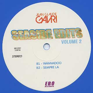 Jean Claude Gavri / Seaside Edits Vol.2 back