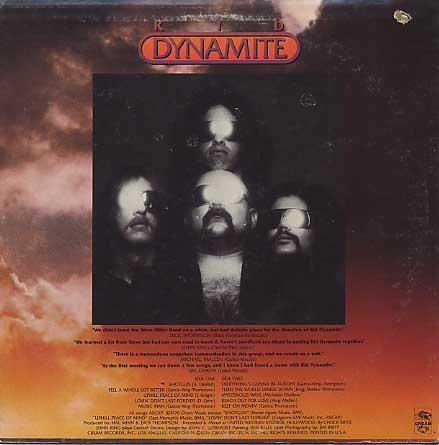 Kid Dynamite / S.T. back
