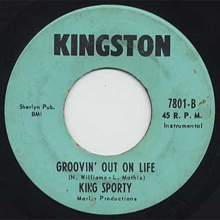 King Sporty / Groovin' Out On Life back