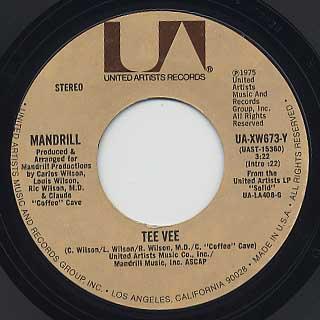 Mandrill / Tee Vee c/w Silk