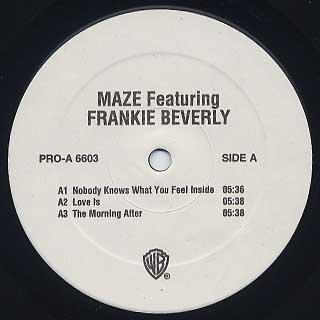 Maze featuring Frankie Beverly / Back To Basics