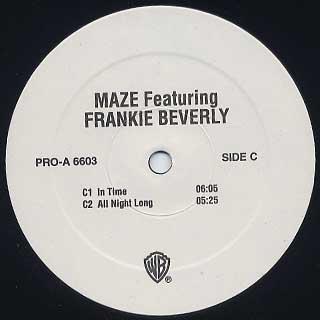 Maze featuring Frankie Beverly / Back To Basics back