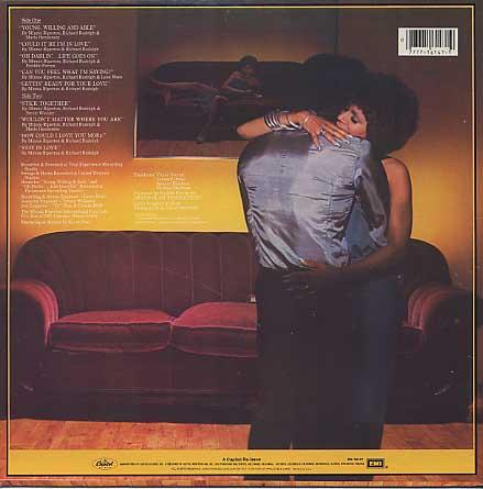 Minnie Riperton / Stay In Love back
