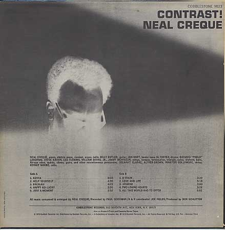 Neal Creque / Contrast! back