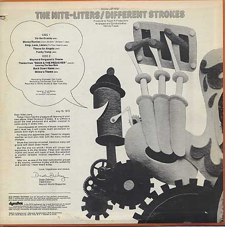 Nite-Liters / Different Strokes back