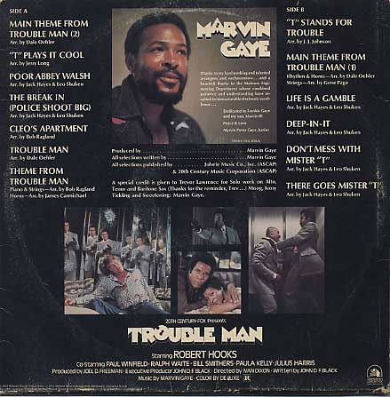 O.S.T.(Marvin Gaye) / Trouble Man back