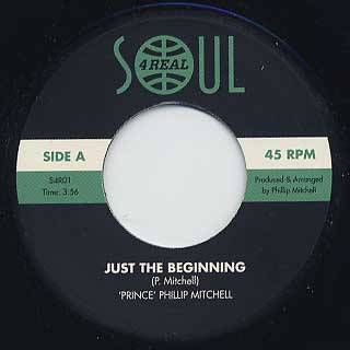 Phillip Mitchell / Just The Beginning label
