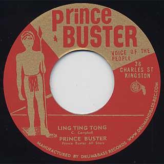 Prince Buster All Stars / Skahara c/w Prince Buster / Ling Ting Tong back