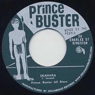 Prince Buster All Stars / Skahara c/w Prince Buster / Ling Ting Tong
