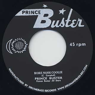 Prince Buster / Lion Of Judah c/w Prince Buster / Bore Nose Coolie back