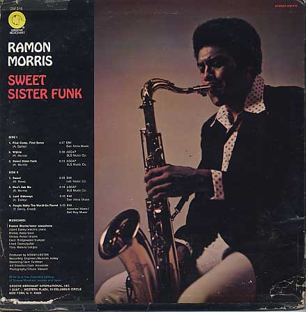Ramon Morris / Sweet Sister Funk back