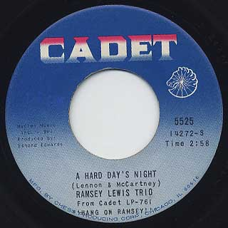 Ramsey Lewis Trio / A Hard Day's Night c/w All My Love Belongs To You