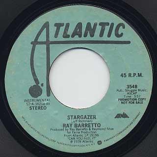 Ray Barretto / Stargazer back