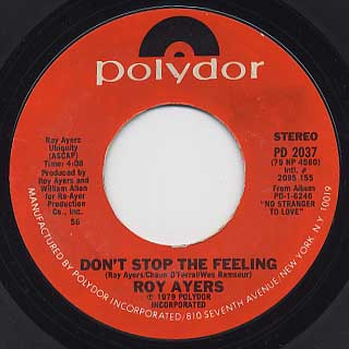 Roy Ayers / Don't Stop The Feeling c/w Don't HIde Your Love