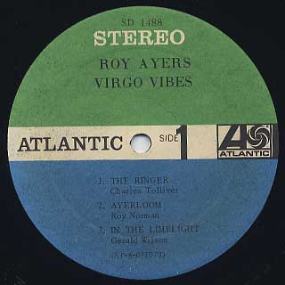 Roy Ayers / Virgo Vibes label
