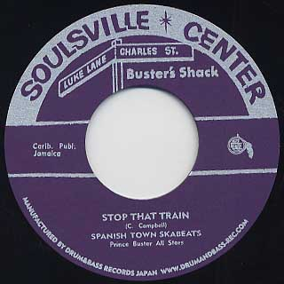 Spanish Town Skabeats / Stop That Train c/w Prince Buster / Dark Destroyer