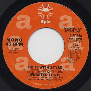 Webster Lewis / Do It With Style