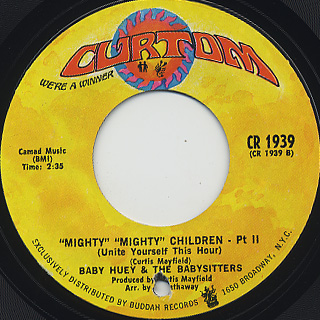 Baby Huey & The Babysitters / Mighty Mighty Children back