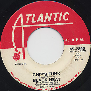 Black Heat / Chip's Funk front