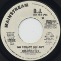 Dramatics / No Rebate On Love