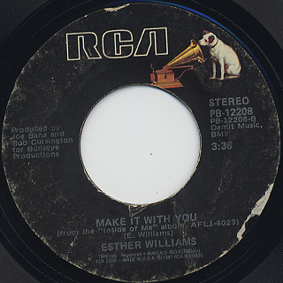 Esther Williams / I'll Be Your Pleasure c/w Make It With You back