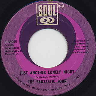 Fantastic Four / Just Another Lonely Night