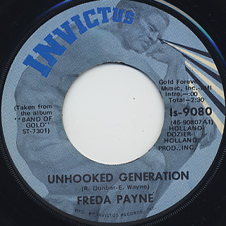 Freda Payne / Unhooked Generation front