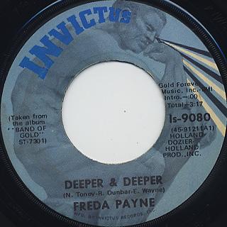 Freda Payne / Unhooked Generation back