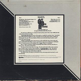 Gary Byrd / Predenting The Gary Byrd Experience back