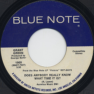 Grant Green / Never Can Say Goodbye back