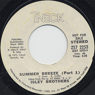 Isley Brothers / Summer Breeze