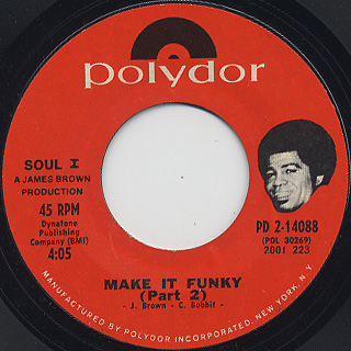 James Brown / Make It Funky (Part1 & Part2) back