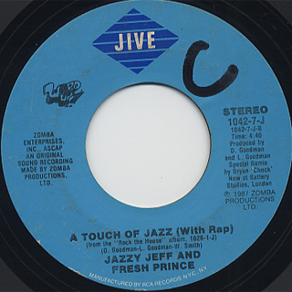 Jazzy Jeff And Fresh Prince / A touch Of Jazz back