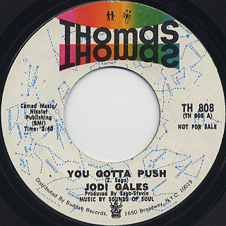 Jodi Gales / You Gotta Push (Promo)