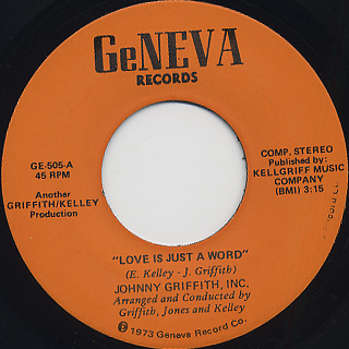Johnny Griffith Inc / Love Is Just A Word