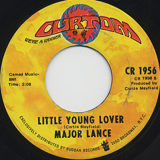 Major Lance / Must Be Love Coming Down back
