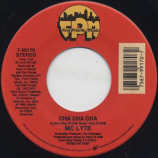 MC Lyte / Cha Cha Cha c/w Housepowe