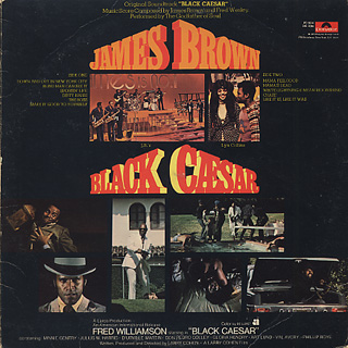 O.S.T.(James Brown) / Black Chesar back