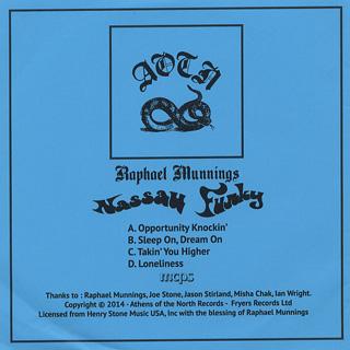 Raphael Munnings / Nassau Funky (2 x 7inch) back