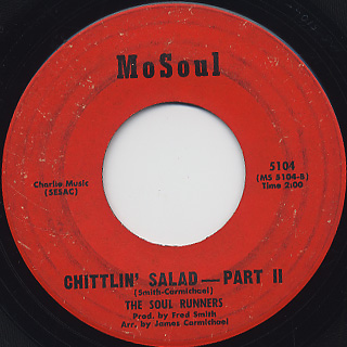 Soul Runners / Chittlin' Salad back