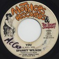 Spanky Wilson / You c/w Love Land