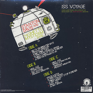 Stanton Davis And The Ghetto Mysticism Band / Isis Voyage (2LP) back