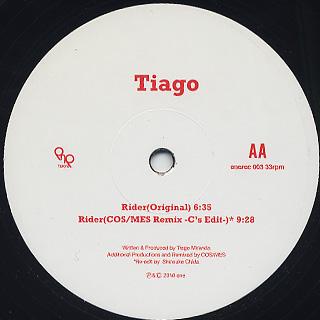 Tiago / Rider back