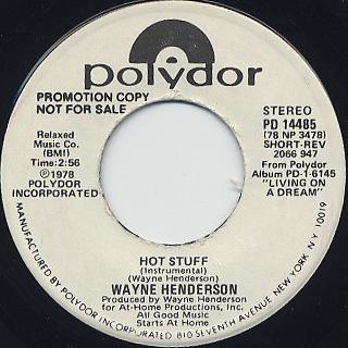Wayne Henderson / Hot Stuff