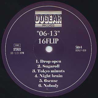 16 Flip / 06-13 (2LP) label