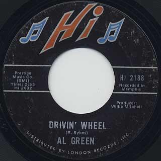 Al Green / Drivin' Wheel c/w True Love